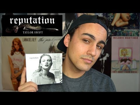 UNBOXING: Taylor Swift - Reputation (CD) |  JJ