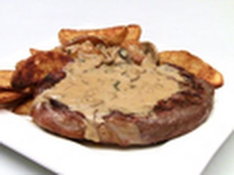 Porterhouse Steak With Mushroom Sauce Recipe - YouTube