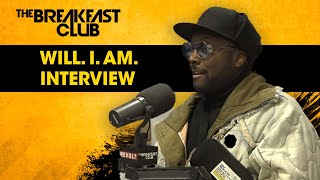 Will.i.am Talks Digitalism, Tech Advances & His Role In 'Parkland Rising' Film