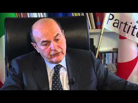 Bersani presenta le proposte del Pd sulla green economy