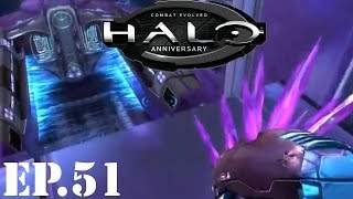 Halo: Combat Evolved Anniversary - Part 51_ Return to the Hangar - Walkthrough / Let's Play