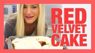 How To Make Red Velvet Cake | iJustine