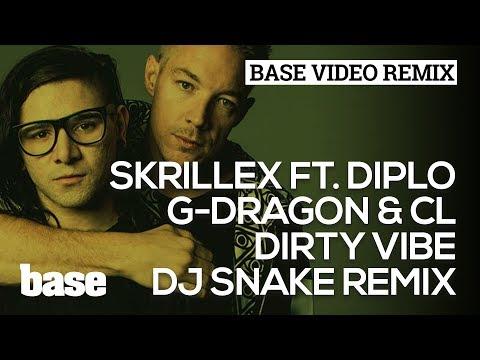 BVE 2014   Skrillex ft. Diplo, G-Dragon & CL - Dirty Vibe (DJ Snake Remix)