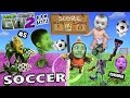 PVZ SOCCER FAMILY BATTLE! Lets Play Plants vs. Zombies Garden...