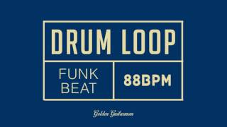 Funk Drum Loop 88 BPM