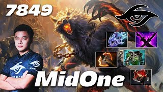 MidOne Lycan Banehallow - 7849 MMR - Dota 2 Pro Gameplay