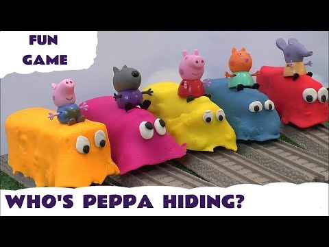 Peppa Pig Play Doh Covered Thomas & Friends Toy Trains Thomas and Friends Play-Doh Guess Kids