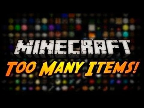 Minecraft 1.5.2 - Como instalar Too Many Items MOD + Review - ESPAÑOL TUTORIAL