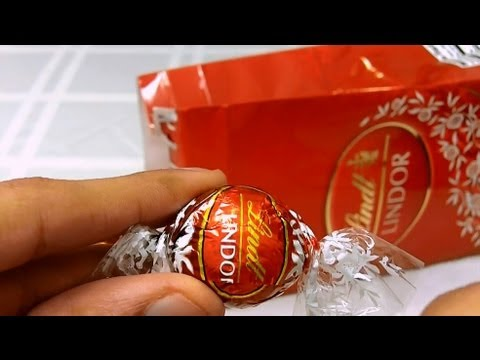 Lindt Truffles Unwrapping And Review