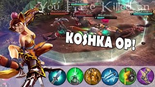 CP Koshka  - She Melts!!| Vainglory | Update [1.11]