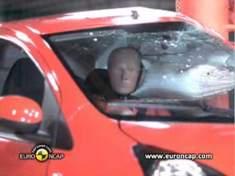 Toyota Aygo Euro NCAP Crash Test, 2012