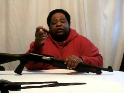Stevens 320 Pump Shotgun - Savage Arms Tactical Look!!