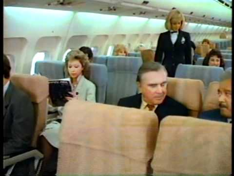 Pan Am Safety Video Airbus A300 from 1988