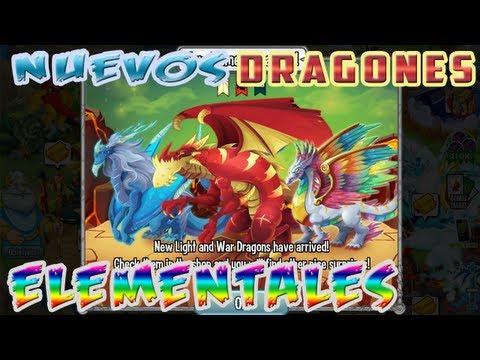 Nuevos Dragones Elementales Dragon City