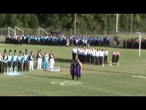 Awards Ceremony, Dixie Pride Marching Band Competition, West Morgan High School, Trinity, AL