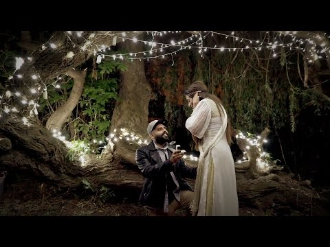 Magical Surprise Proposal   Harpreet & Richard