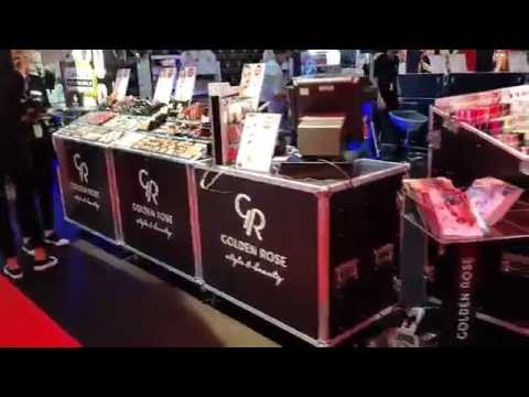 Flightcase stand make-up