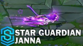 Star Guardian Janna Skin Spotlight - League of Legends