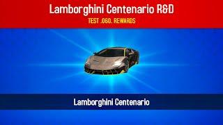 Asphalt 8, ME WINING Lamborghini CENTENARIO, 4th Lab, Test 052-060