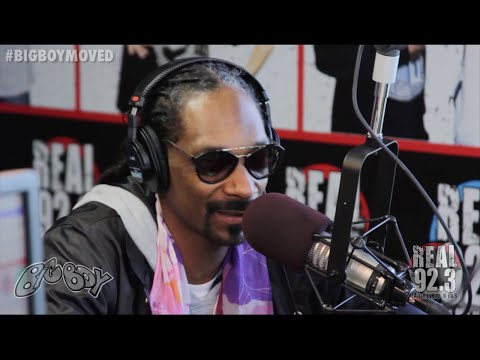 Snoop Dogg Performs Gin and Juice LIVE!   BigBoyTV