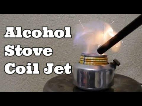 Alcohol Stve【100万回視聴記念動画】 フタができるコイルジェットアルコールストーブ編 Cask Stove Jet stove Coil Alcohol Stove
