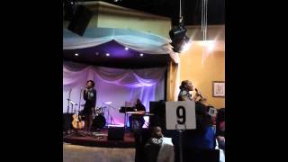 Vanessa wheatle @Gospel Cafe