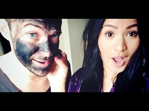 Tip #105: Black Charcoal Acne Mask (Not My Hands Challenge w/ NatyMidnight)