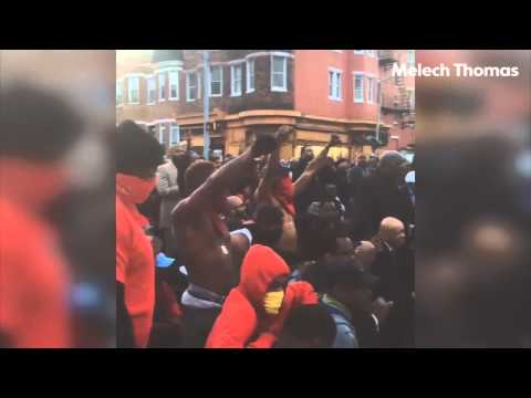 See Baltimore residents' reactions to riots