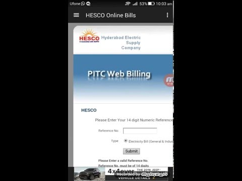 Utility Bills Pakistan (Android App)