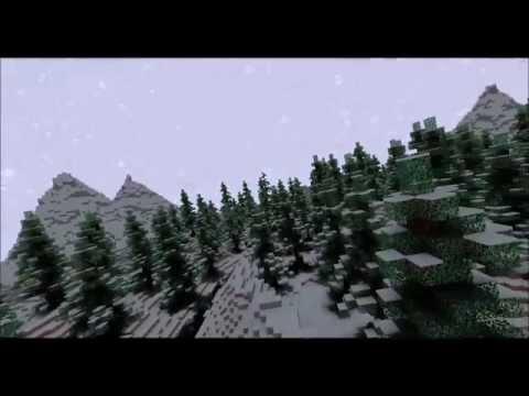 Minecraft cinematic - Snow Pine Valley