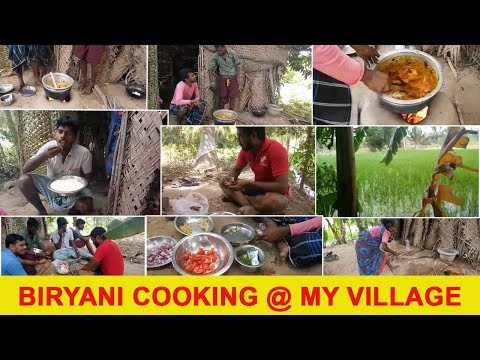 Biryani Cooking At My Village | Cooking Biryani | Cooking With Nature | My Village My Food