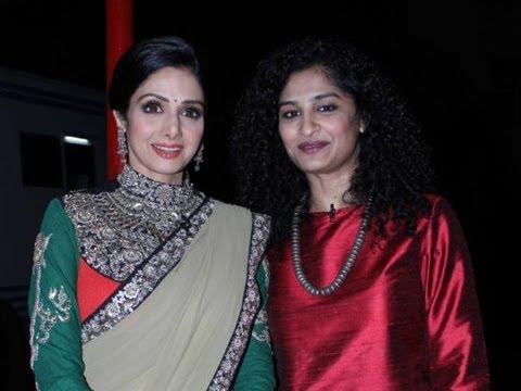 Sridevi On The Sets Of Kaun Banega Crorepati
