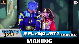 A Flying Jatt (Title Track) - Song Making | Tiger Shroff & Jacqueline Fernandez | Sachin - Jigar