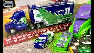 Disney Cars Haulers Collection - Chip Gearings's Hauler 🔴 Live Toy Unboxing - Disney Cars Toys