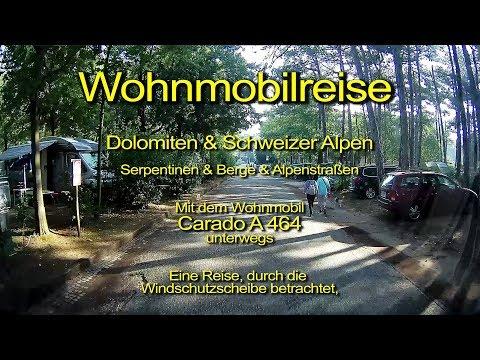 Wohnmobilreise – Dolomiten & Schweizer Alpen – Tag 15 – Durch die Windschutzscheibe betrachtet
