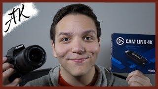 Elgato Cam Link 4K tutorial - How To live stream from a DSLR!