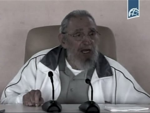 Raw: Fidel Castro Makes Rare Public Appearance