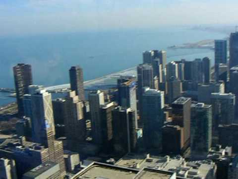 Chicago Skyline From The Hancock