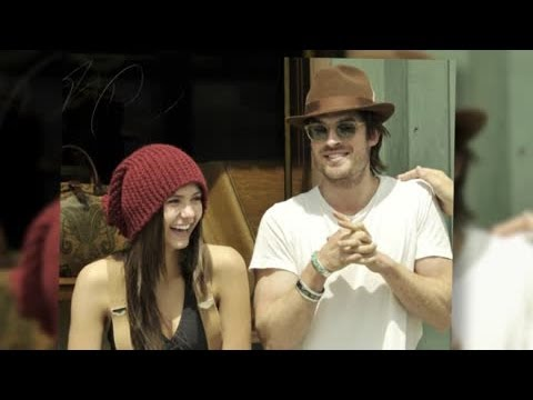 Ian Somerhalder and Nina Dobrev Cross Paths After Break Up - Splash News