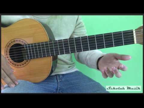 Belajar Gitar Lagu Dari Mata - JAZ