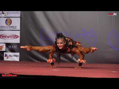 2017 IFBB World Championships JUNIOR Fitness OVERALL