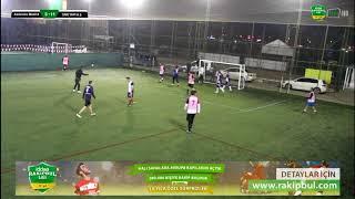 Akdereko Madrid - ONR YAPI A.Ş/ özet/ ANKARA / iddaa Rakipbul Ligi 2018