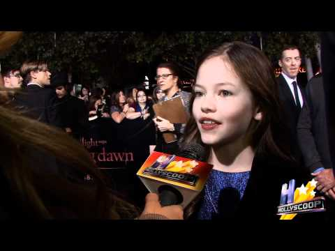 Vampire Baby Mackenzie Foy on Staring in Breaking Dawn With Rob and Kr...
