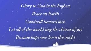 Watch Sidewalk Prophets Hope Was Born This Night video