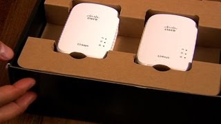 The Linksys PLEK500 powerline kit is impressively fast.