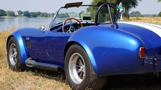 AC Shelby Cobra 427 tribute  - Superformance - aerial video