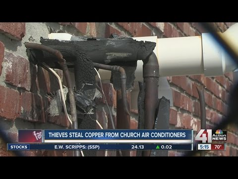 Thieves steal copper from church air conditioners