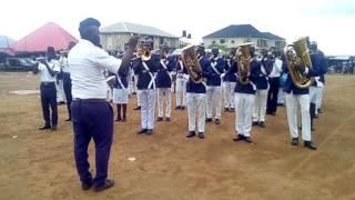 Boys' Brigade anthem, by the Boys' Brigade Nigeria, Jabi battalion band.