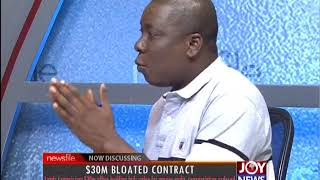 $30m Bloated Contract - Newsfile on JoyNews (21-7-18)