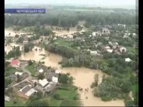 Потоп на Буковине 29/06/2010
